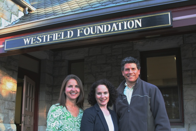 The Westfield Foundation welcomes three new trustees to  the Foundation board.  Pictured (l to r): Janet Sarkos, Karen Fountain and Mitch Beinhaker.