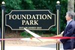 Foundation Park Ribbon Cutting June 2016